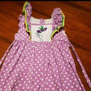 Other - Mardi Gras girl's dress